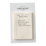 Crabit Checklist Note - Crabit Notepad - Be
