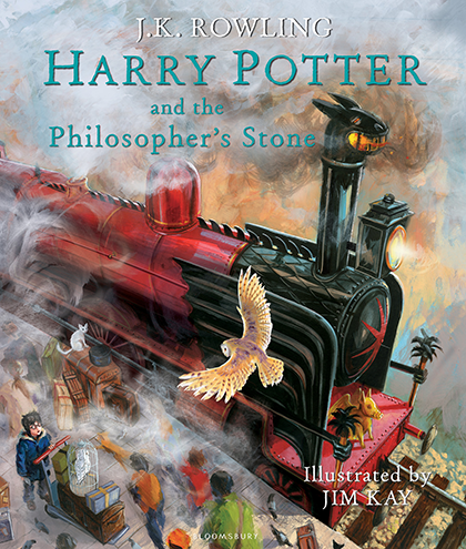 Mua Cá Chép - Harry Potter And The PhilosopherS Stone: Illustrated Edition (Harry Potter, Book 1)
