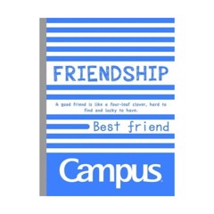 Vở Campus A5 4 Ly Ngang (2mm) 96 Trang ĐL 70 Emotions