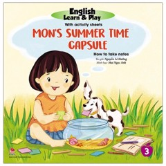 English Learn & Play 3: Mon'S Summer Time Capsule - How To Take Notes