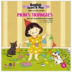 English Learn & Play 4: Mon'S Triangles - How To Associate And Imagine