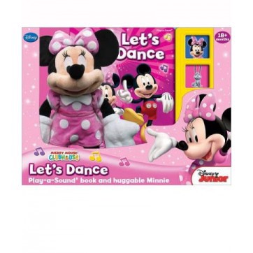 Mickey Mouse Clubhouse: Let's Dance: Play-a-Sound and Huggable Minnie