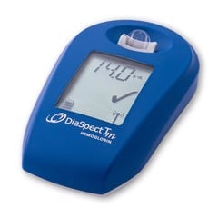 DiaSpect Tm hand-held Hemoglobin Analyzer
