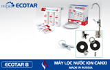 Geyser ECOTAR 8 Ion Canxi – Made in Russia - Model 2020