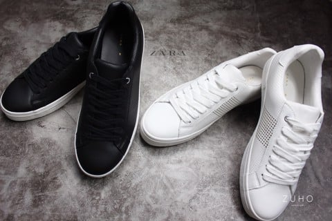Sneaker ZR All Black - All White