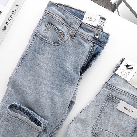 Jeans ZR Xanh nhat 0803