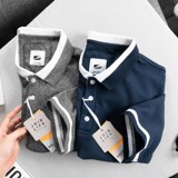 Polo PB cotton dệt vân ngang