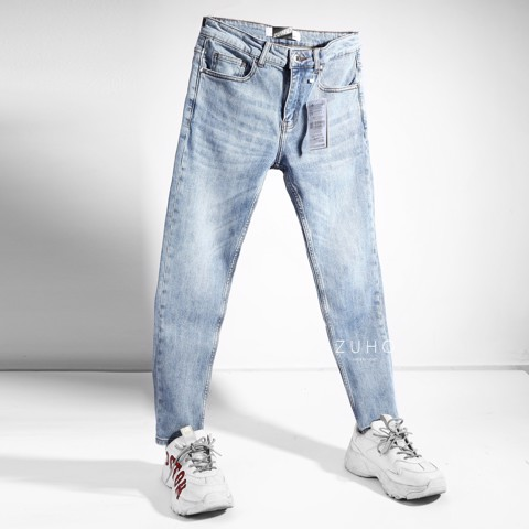 Jeans ZR Xanh nhat 0111