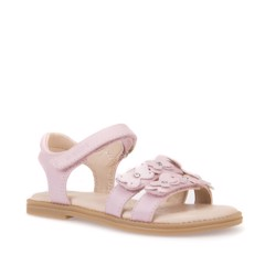 Giày Sandals Trẻ Em Geox S.KARLY G. I SYNT.LEA PINK - SS18