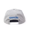 NÓN M&N CRACKED SNAPBACK (INTL035) - GREY