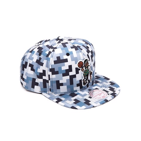 Nón MITCHELLNESS Sublimated Micro Peach Snapback