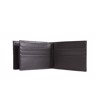 Ví Albedo P Nr-009 Double Panel Wallet 9 Card - Black - Ss17