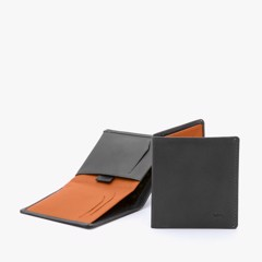 BELLROY NOTE SLEEVE WALLET - CHARCOAL- AW17