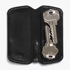 BELLROY KEY COVER PLUS - BLACK- AW17