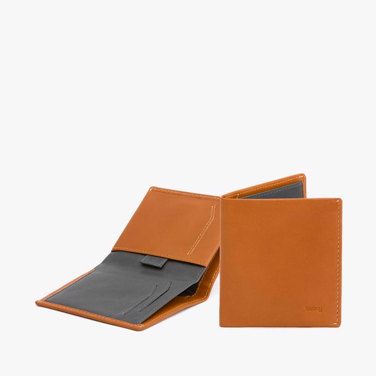 BELLROY NOTE SLEEVE WALLET RFID - CARAMEL- AW17