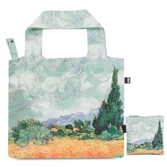 TÚI LOQI VINCENT VAN GOGH A WHEAT FIELD WITH CYPRESSES - AW15