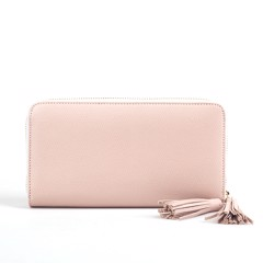 VÍ ARTEMYS ANYA ZIP AROUND (ARTE14) GRAIN LEATHER NUDE PINK - SS17