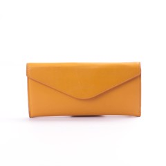 VÍ ARTEMYS WALLET SAILING B (ARTE24) COW LEATHER YELLOW ORANGE - AW17