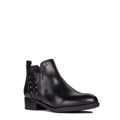 GIÀY BOOT NỮ GEOX D FELICITY NP ABX A SMO.LEA BLACK - AW18