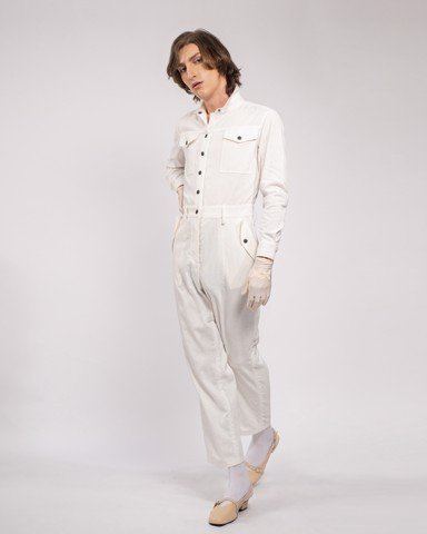 Jumpsuit SPIRIT ST. LOUIS - WOMEN - COCONUT MILK