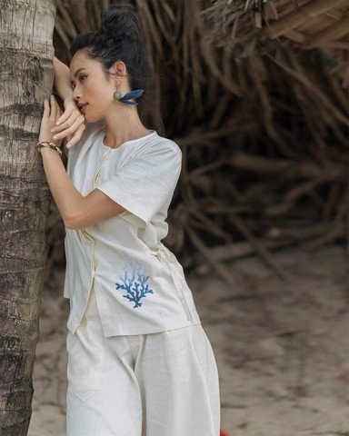 Áo Nữ F2 Linen - Back To Nature
