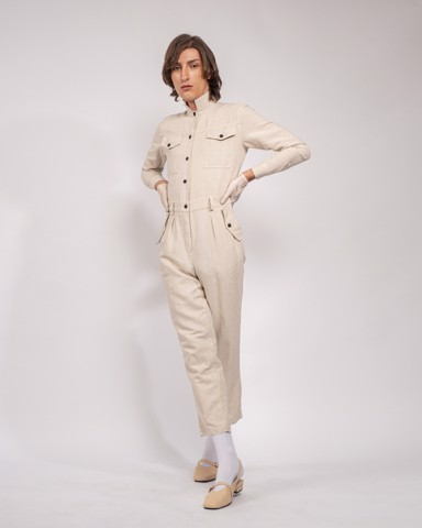 Jumpsuit SPIRIT ST. LOUIS - WOMEN - FROSTED ALMOND