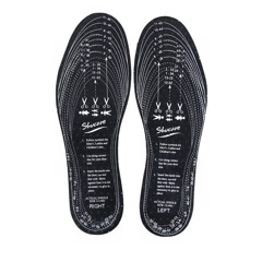 SHUCARE FRESH FEET CHARCOAL INSOLE-UNIVERSAL