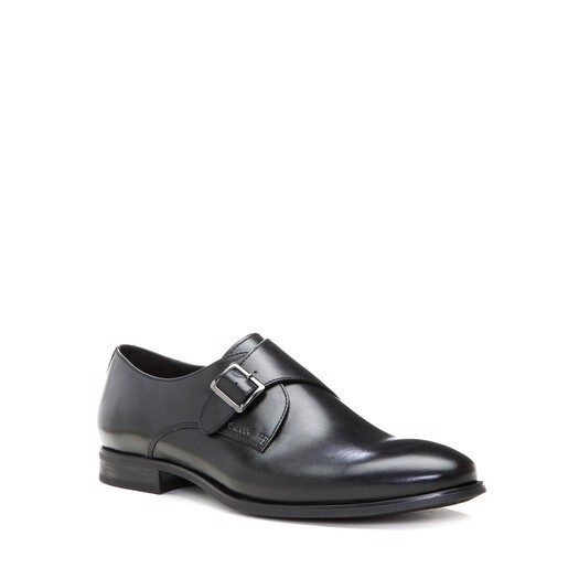 Giày Tây Nam GEOX U ALBERT 2FIT A SMOOTH LEATHER BLACK - SS15