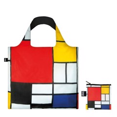 TÚI LOQI PIET MONDRIAN COMPOSITION WITH RED YELLOW BLUE AND BLACK 1921 - AW17