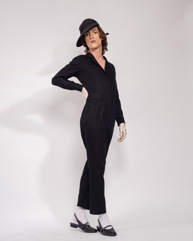 Jumpsuit VOYAGER - WOMEN - BLACK