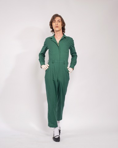 Jumpsuit VOYAGER - WOMEN - FOREST BIOME