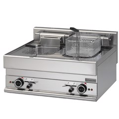 Electric fryer 10X10 litres, tabletop, 18 kW 6570FREPW