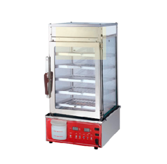Electronic version of food display steamer MME-500H-D