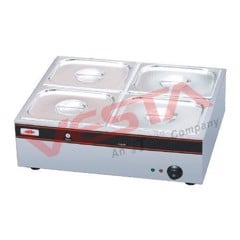 Electric 4-pan Bain Marie