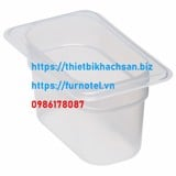 Translucent Polypropylene Food Pan 1/9
