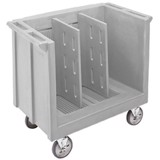 Polyethylene Adjustable Tray & Dish Cart