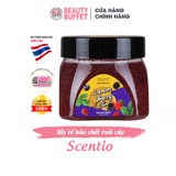 Tẩy tế bào chết trái cây Scentio Daily Delicious Scrub And Wash 200g