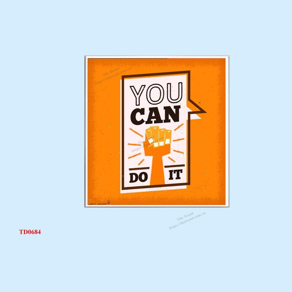 Tranh You Can Do It - TD0684