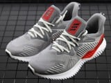 Giày adidas AlphaBounce Beyond Grey / Grey / Core Red