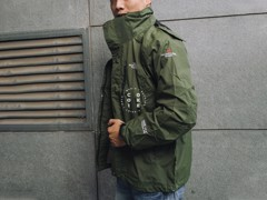 The North Face Stretch Powderflo Jacket - Army