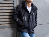The North Face Stretch Powderflo Jacket - Black (Men's)