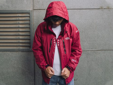 The North Face Stretch Powderflo Jacket - Red (Men's)