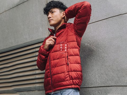 The North Face Stretch Down Jacket - Red (Men's)