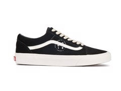 Giày Vans Old Skool (Herringbone Lace) Black/ Marshmallow - VA38G1QSJ