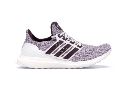 Giày adidas Ultra Boost 4.0 Cloud White Maroon - EE3705