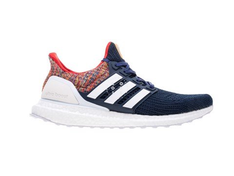 Giày Men's adidas Ultra Boost 4.0 D11 ShangHai White Blue - BY1756