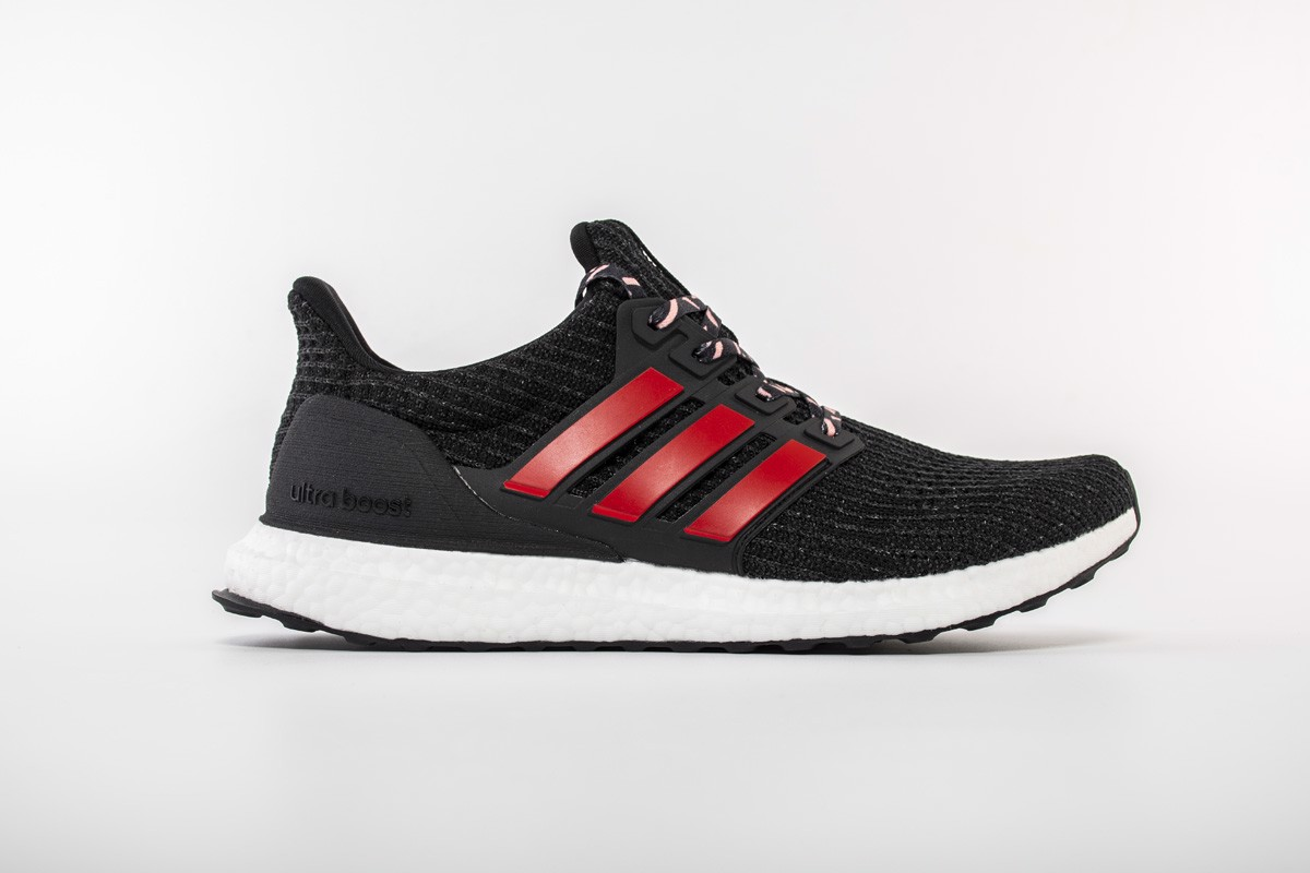 Giày Adidas Ultra Boost 4.0 Black Red - F35231