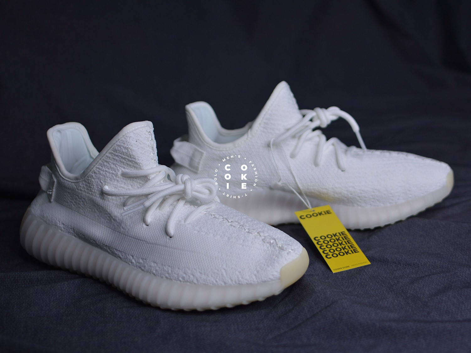 Adidas Yeezy Boost 350 V2 Cream Triple White CP9366 Size 10