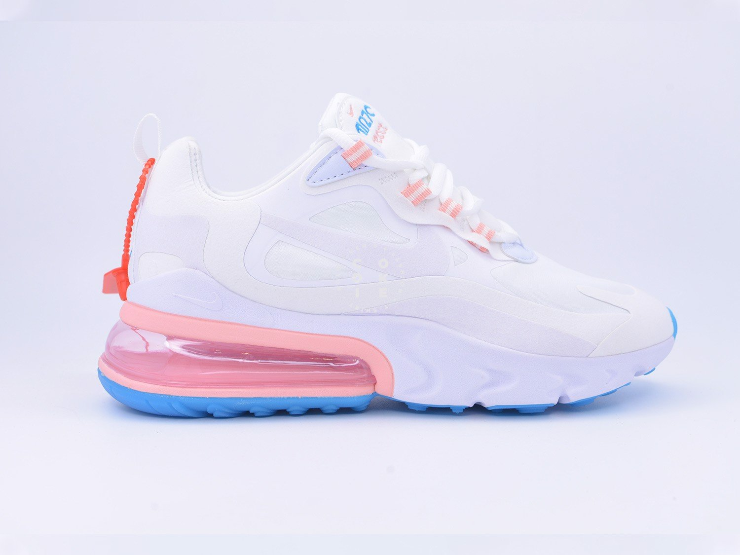 Giày Air Max 270 React American Modern Summit White - AO4971-100