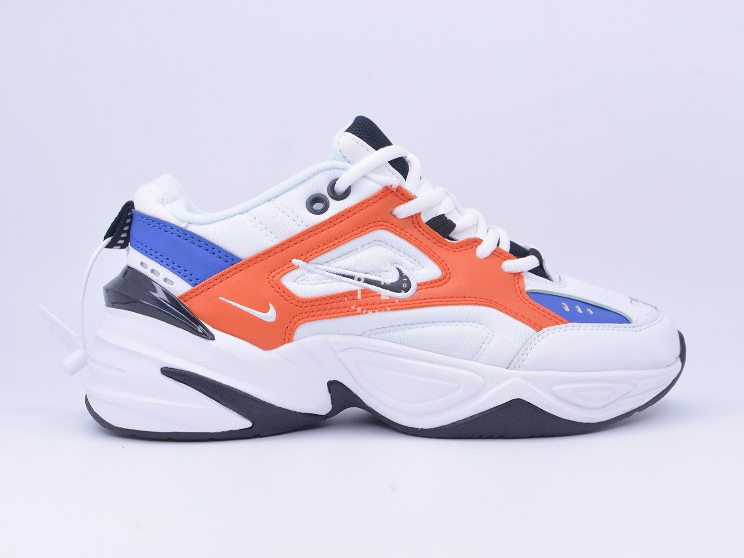 Giày Nike M2K Tekno White Black Orange - AV4789-100